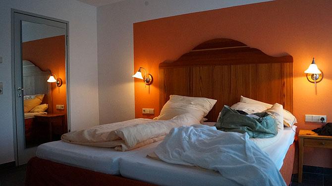 Doppelzimmer im Parkhotel Rothaus