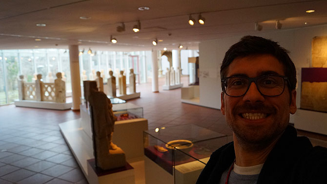 Ich im Landesmuseum Trier