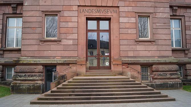 Landesmuseum Trier von außen