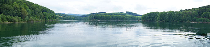 Panorama des Hennesee