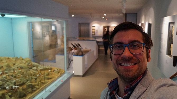Ich im Siebengebirgsmuseum in Königswinter