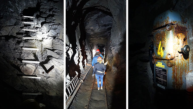 Tolle Fotomotive im Bergwerk Nuttlar