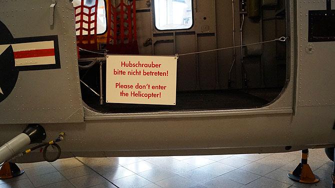 Betreten verboten! Leider zu häufig.