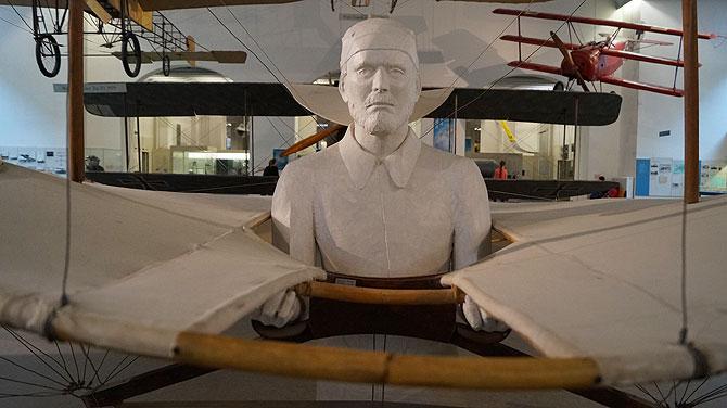 Der Bereich Historische Luftfahrt im Deutschen Museum