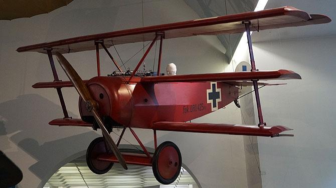 Der Rote Baron alias Manfred von Richthofen