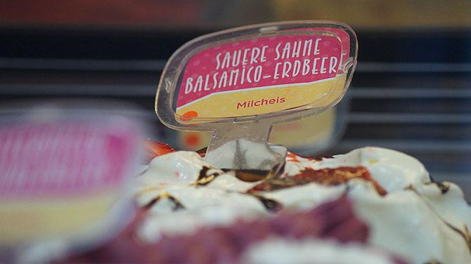 Balsamico-Erbeere ist Eis des Jahres 2015.