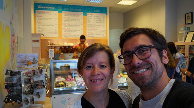 Ich und die Eisprinzessin von Erfurt im Zucker und Zimt
