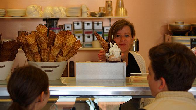 Für die Eisprinzessin von Erfurt ist Eis das Ein und Alles.