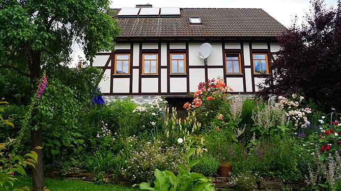 Ein Paradies für alle Kräuterfans: Antjes Kräutergarten