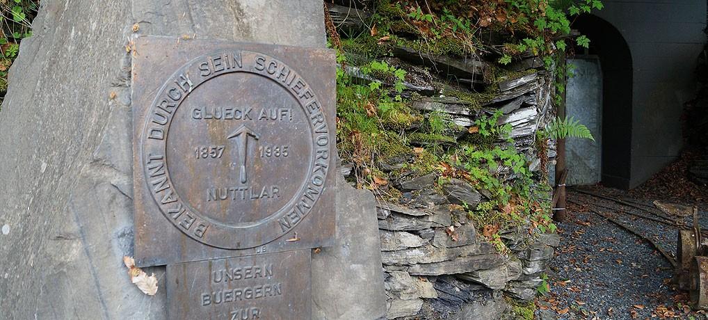 Bergwerk Nuttlar im Sauerland