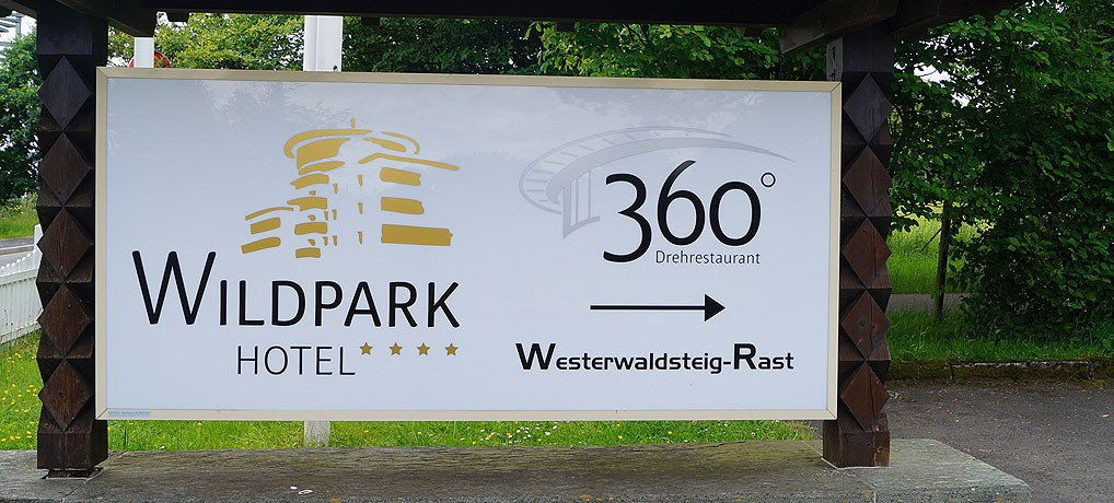 Das Hotel Wildpark liegt bei Bad Marienberg im Westerwald in Rheinland-Pfalz.