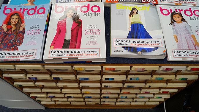 Schneidereibedarf-Kurzwaren-Wächtershäuser-Frankfurt-Frauenmagazine