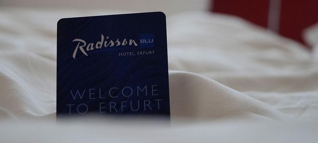 Das Hotel Radisson Blu Erfurt liegt am Anger, dem Zentrum der Stadt.