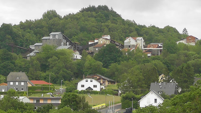 Der Stöffelpark bei Enspel ist ein Etappenpunkt auf dem Westerwaldsteig.
