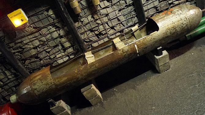 Nichts für Platzängstliche: Dahlbuschbombe