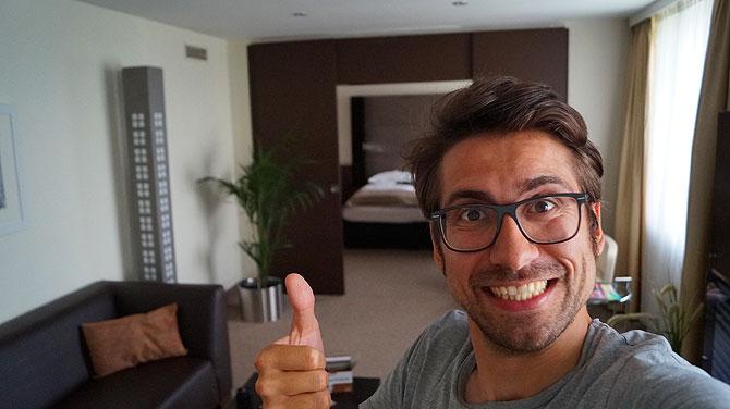 Ich im Mercure Hotel Bochum City