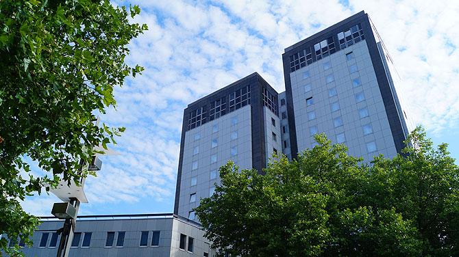 So sieht das Mercure Bochum von außen aus.