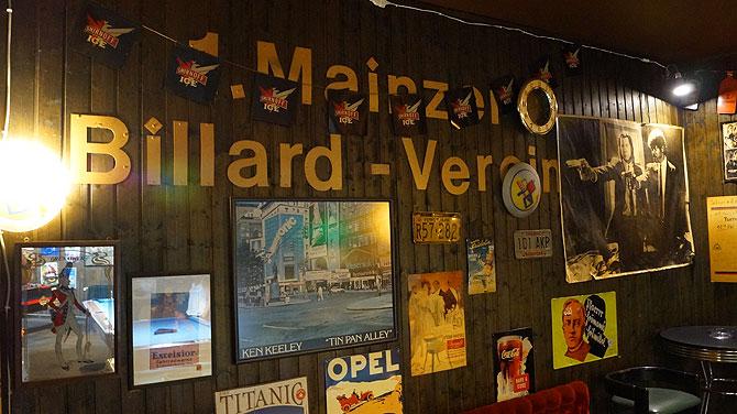 Headquarter des 1. Mainzer Billardvereins