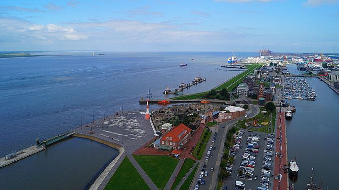 So sieht Bremerhaven-City aus.