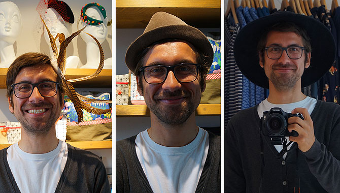 Drei Hüte, keine Entscheidung
