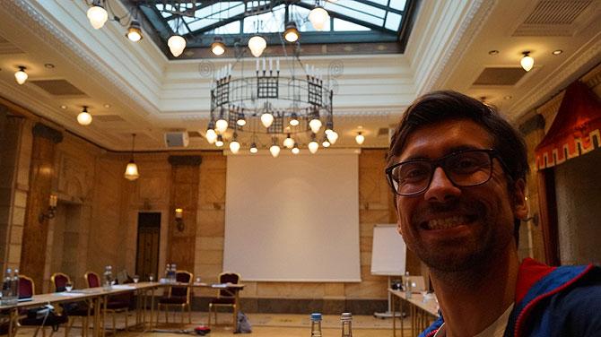 Ich im Hotel Le Meridien Nürnberg
