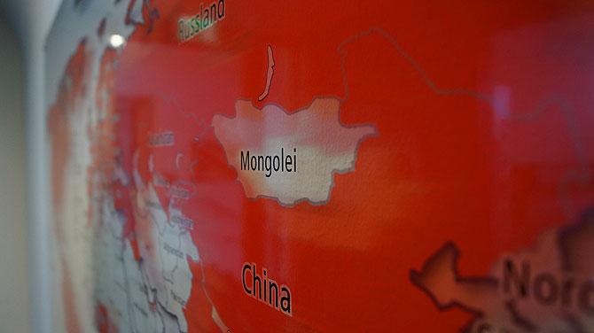 Jägi gibt's auch in der Mongolei.