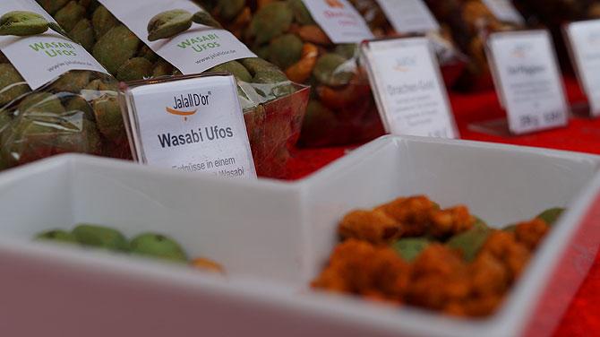 Wasabinüsse sind Geschmackssache