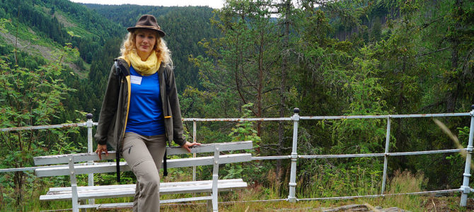 Wandern in Thüringen mit Franziska Jacob