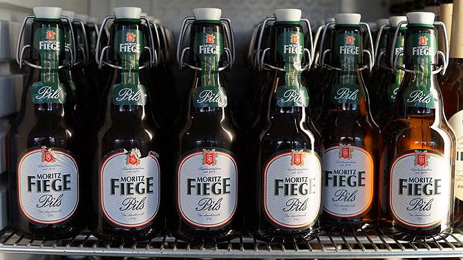Fiege Pils ist das für Bochum typische Bier