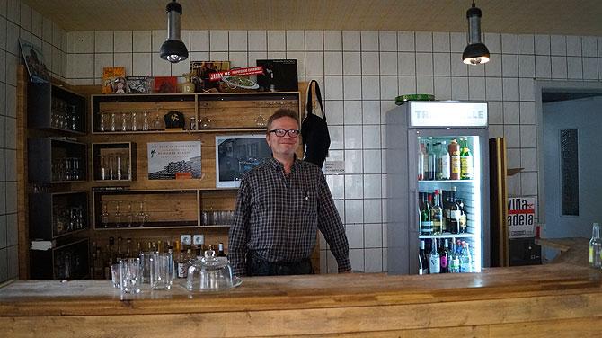Thomas, Beerkeeper in der Trinkhalle Bochum
