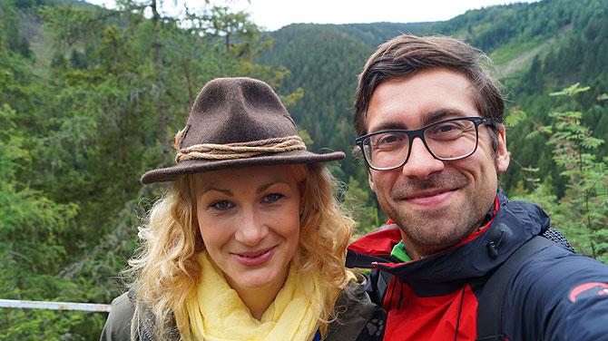 Ich und Franziska Jacob