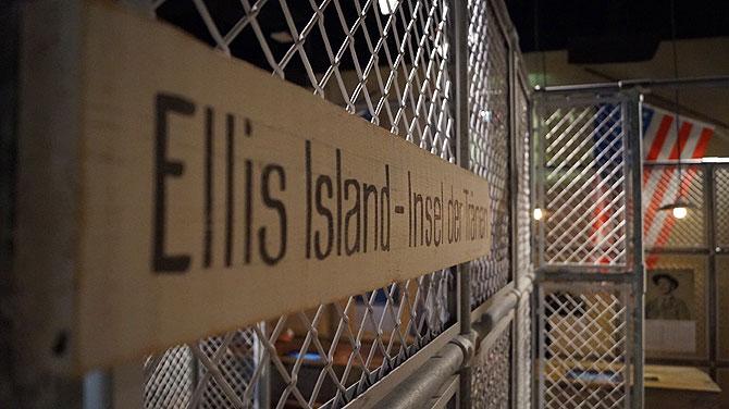 Ellis Island im Deutschen Auswandererhaus