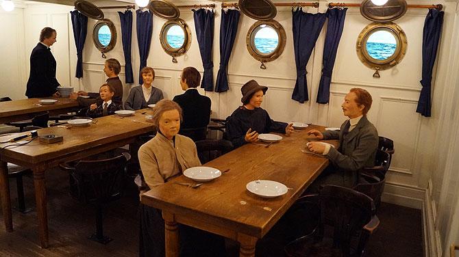 So sieht einst der Speisesaal aus
