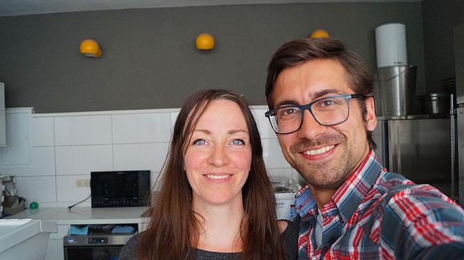 Ich mit Julia im Bochumer Kugelpudel