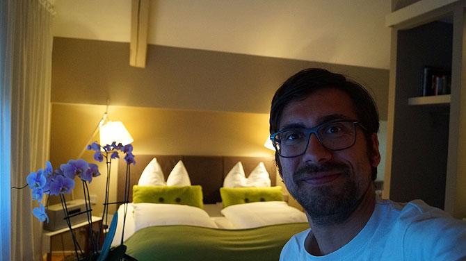 Ich im Hotel einschlaf in Wolfsburg