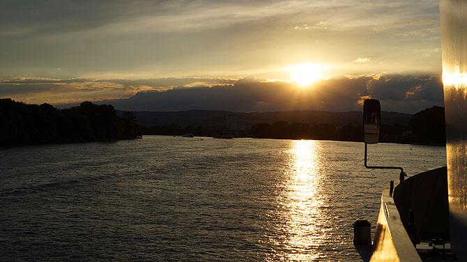 Noch schönerer Sonnenuntergang