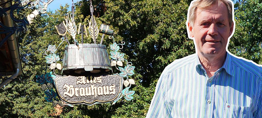 Hartmut Gehrmann vom Alten Brauhaus Fallersleben bei Wolfsburg