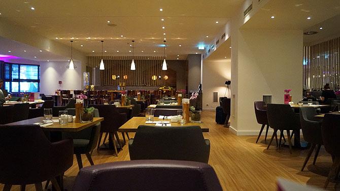 Frühstück im Fourside Hotel Braunschweig