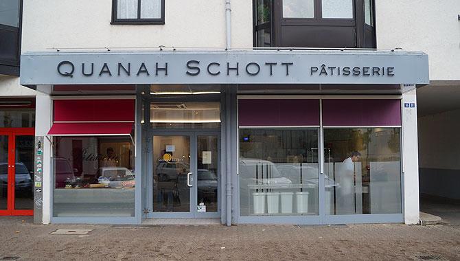 Eingang der Patisserie Saarbrücken