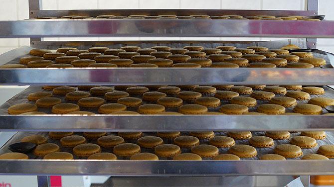 Macarons sind bei Quanah Schott sehr beliebt