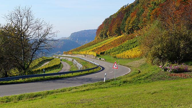 Landstraße vor Breuningsweiler