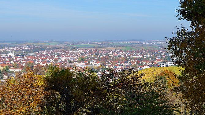Aussicht Kleiner Rossberg