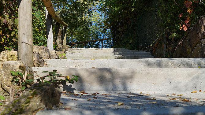 Treppen zum Kleinen Rossberg