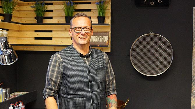 Thomas Krämer vom Krämerladen alias Bonbon Manufaktur