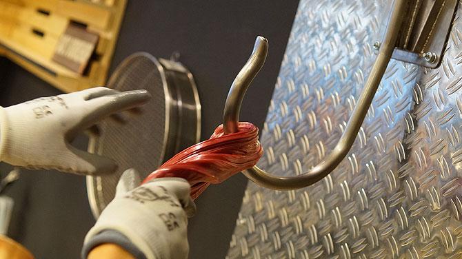 Hier denke ich in der Bonbon-Manufaktur Kaiserslautern an den Film Saw