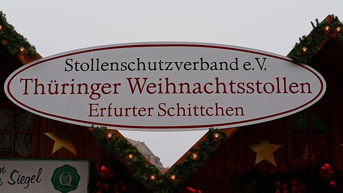 Erfurter Schittchen sind quasi Weihnachtsstollen