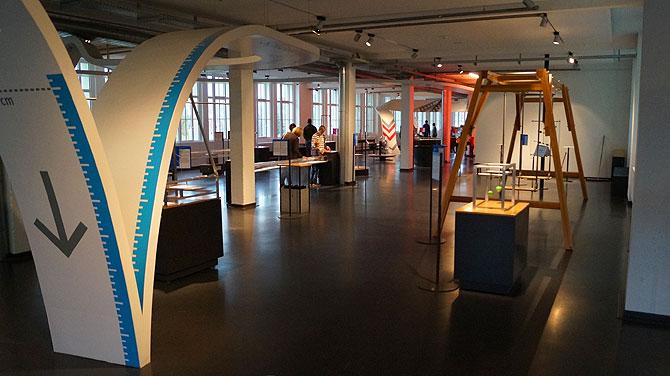 Die Ausstellung und Exponate verteilen sich auf acht Bereiche