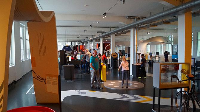 Das Science Center ist für Kinder und Erwachsene gleich toll