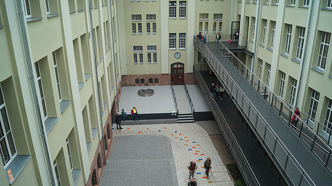 Das Science Center befindet sich auf dem Rheinberger Areal