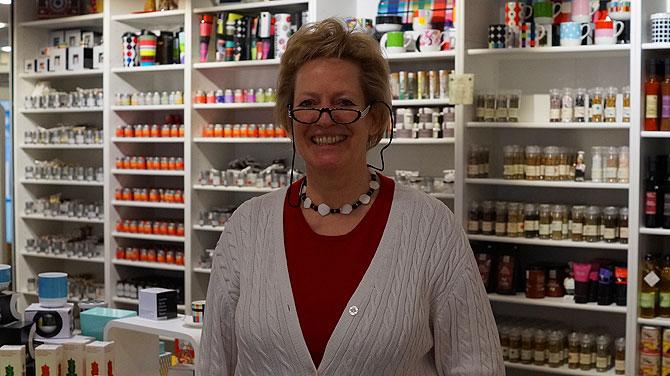 Brigitte ist die Chefin und promovierte Landwirtin